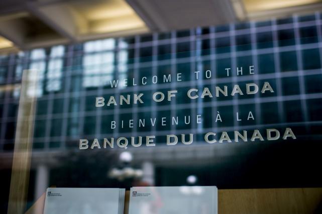 La Banque du Canada a haussé mercredi son taux d'intérêt directeur pour la... (Photo archives Bloomberg)