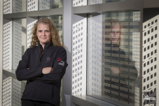 Julie Payette... (PHOTO IVANOH DEMERS, ARCHIVES LA PRESSE)