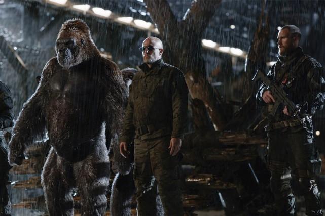Dans La guerre de la Planète des singes,... (21th Century Fox)