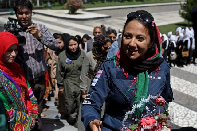 Shaesta Waiz effectue un tour du monde en... (AFP)