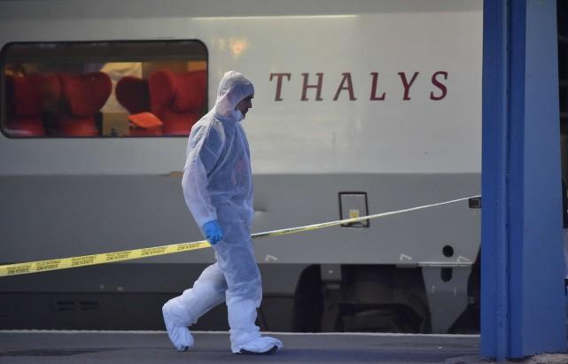 L'attentat du train Thalyss'est déroulé le21 août 2015,... (ARCHIVES AFP)
