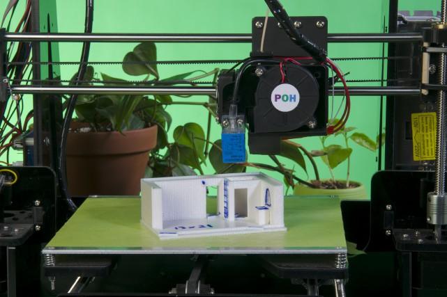 Imprime notre maison est à l'étape des prototypes,... (fournie par Imprime notre maison)