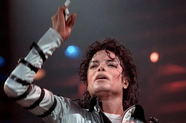 Le projet posthume intitulé Michael Jackson's Halloween (L'Halloween... (AFP)