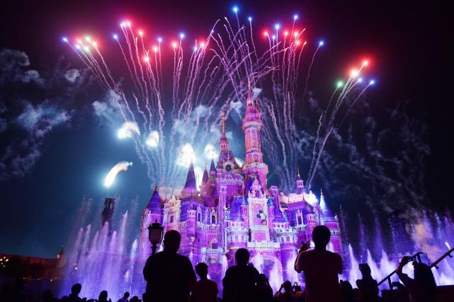 Le parc Disney à Shanghai a été inauguré... (PHOTO REUTERS)