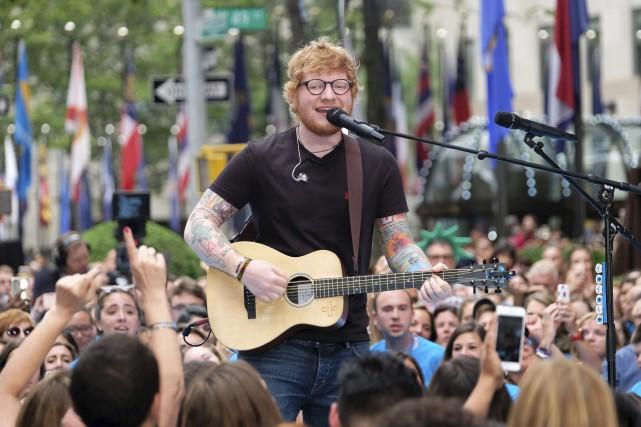 Les billets pour le spectacle qu'Ed Sheeran donnera... (AP, Charles Sykes)