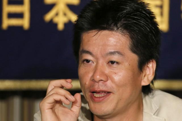 L'homme d'affaires Takafumi Horie, fondateur du fournisseur de... (AP)