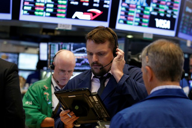 Le Dow Jones avançait de 0,03% et le... (REUTERS)