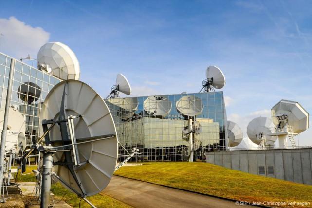 Le Luxembourg héberge SES, le premier opérateur mondial... (SIP / Jean-Christophe Verhaegen)