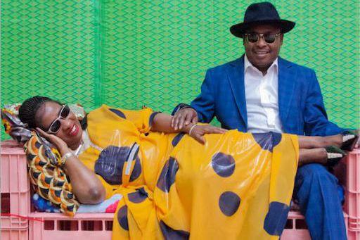 Le duo malien Amadou et Mariam sera en... (photo fournie par Nuits d'Afrique)