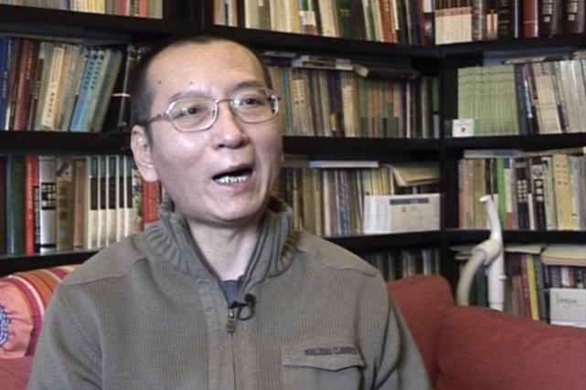 Liu Xiaoboest le premier prix Nobel de la... (PHOTO AP)