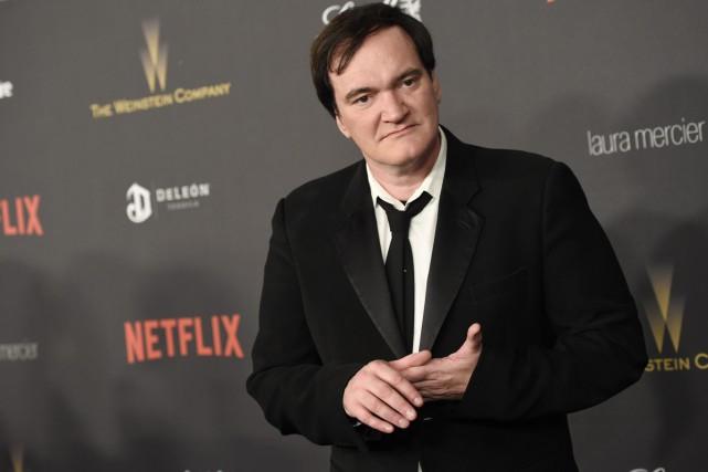 Le réalisateur oscarisé Quentin Tarantino est en train de préparer un film... (PHOTO ARCHIVES AP)