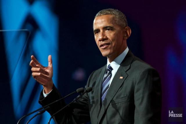 Barack Obama, 55 ans, est relativement discret depuis... (PHOTO ANDRÉ PICHETTE, ARCHIVES LA PRESSE)