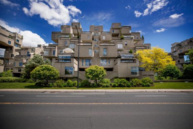 À l'origine, les appartements d'Habitat 67 étaient composés... (Photo Marco Campanozzi, La Presse)