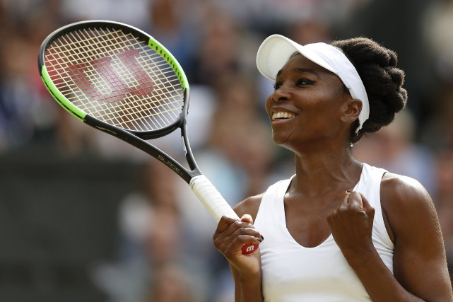 Venus Williams participera à une neuvième finale à... (Photo Adrian Dennis, AFP)