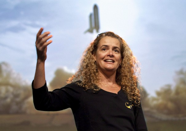 Julie Payette... (Archives, La Presse canadienne)