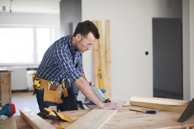Voir le potentiel d'une maison, imaginer comment elle pourrait être... (123RF)