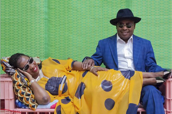 Amadou et Mariam comptent bien dégourdir les festivaliers... (Hassan Hajjaj)