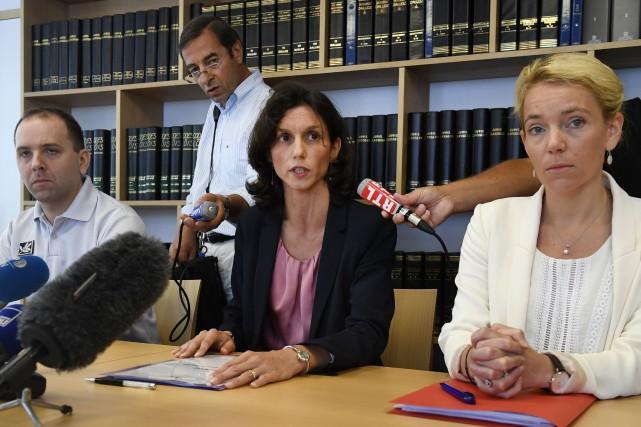 La procureure de la République de Lorient, Laureline... (PHOTO AFP)