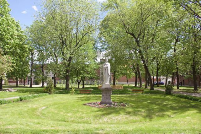 Les jardins du Séminaire de Saint-Sulpice seraient les... (Photo fournie par le Séminaire de Saint-Sulpice à Montréal)