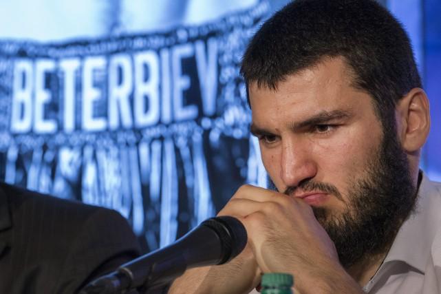 Artur Beterbievn'a pas obtenu l'autorisation des autorités américaines... (Photo Ivanoh Demers, La Presse)