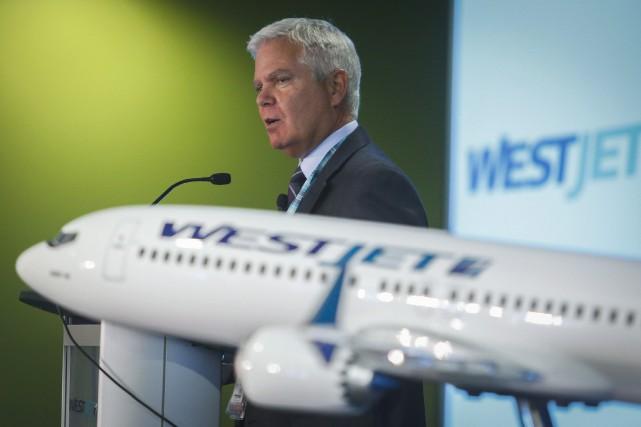 La patron de WestJet, Gregg Saretsky... (Archives La Presse canadienne, Jeff McIntosh)