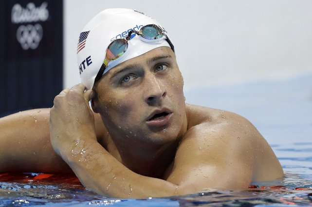 Ryan Lochte... (PHOTO ARCHIVES AP)