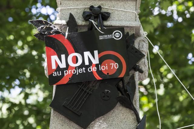 Nous apprenions la semaine dernière la publication du règlement déterminant la... (Archives La Presse, Olivier Pontbriand)