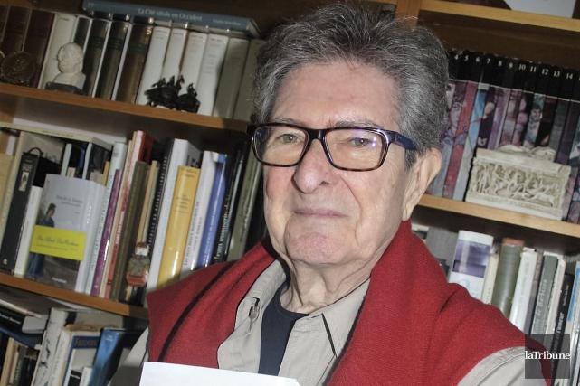 Le romancier Jacques Allard vient de faire paraître... (La Tribune, Jean-François Gagnon)