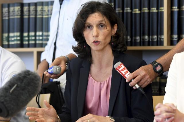 La procureure de Lorient, Laureline Peyrefitte, a fait... (AFP, Fred Tanneau)
