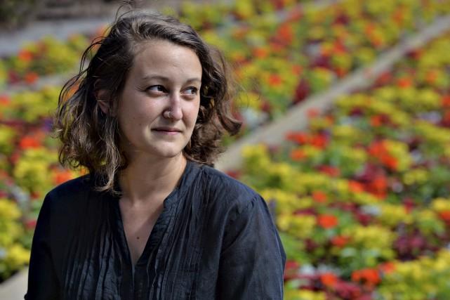Alice Chiche, 25 ans, journaliste et photographe, est... (Le Soleil, Patrice Laroche)