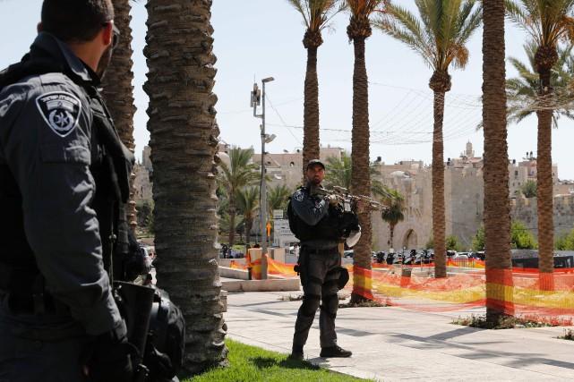 La police a annoncé après l'attaque la fermeture... (PHOTO Thomas COEX, AFP)