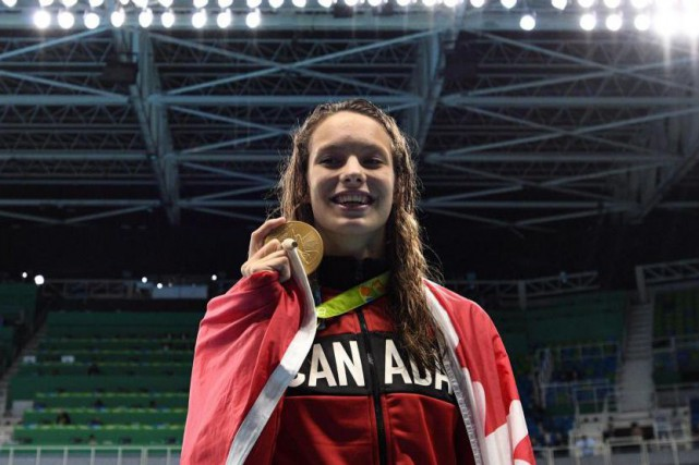 Pratiquement inconnue avant ses quatre médailles à Rio,... (PhotoSean Kilpatrick, archives La Presse canadienne)