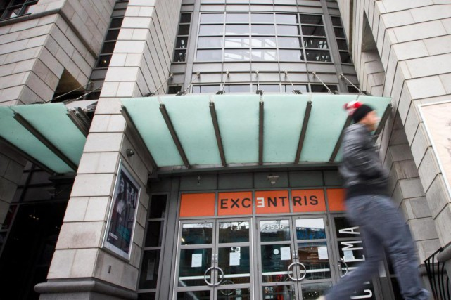 L'édifice de l'ancien complexe decinéma Excentris est évalué... (Photo Patrick Sanfaçon, Archives La Presse)