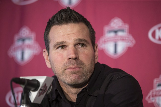 L'entraîneur-chef du Toronto FC, Greg Vanney.... (Photo Chris Young, archives PC)