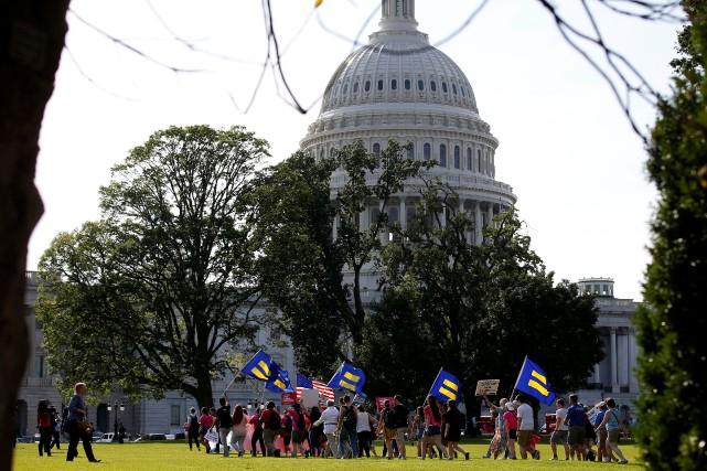 La réforme républicaine visant à abroger un certain... (Photo Joshua Roberts, archives REUTERS)