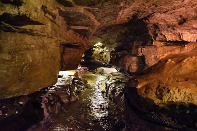 Depuis 6millions d'années, l'eau a creusé l'épaisse couche... (Photo David Riendeau,collaboration spéciale)