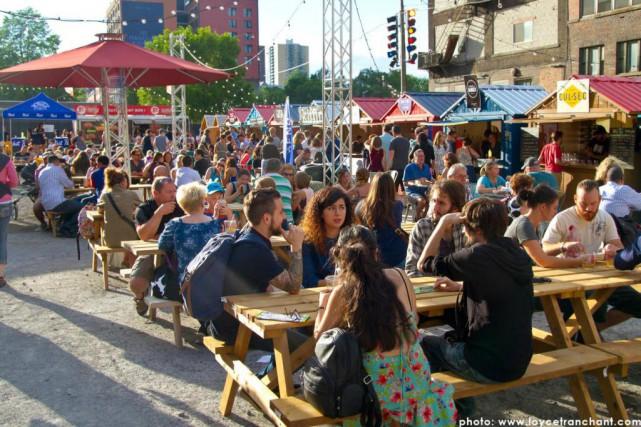 Le festival Bouffons Mtl! s'est installé samedi dans... (Photo fournie par Bouffons Mtl!)