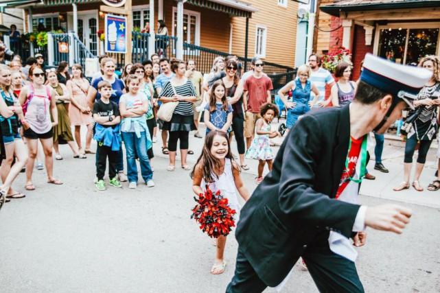 Le festival Le Festif de Baie-Saint-Paul est de... (Photo tirée de la page Facebook/créditCaroline Perron et Jay Kearney)