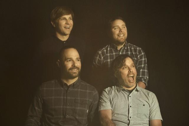 Le groupe de musique québécois Les Trois Accords... (Photo courtoisie, Cindy Boyce)