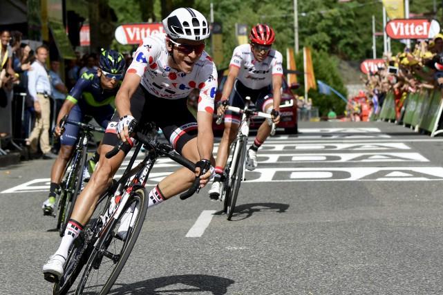 Warren Barguil a remporté la 13e étape du... (AFP, Philippe Lopez)