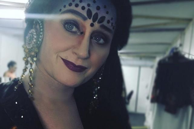 Anna Liani, ici en costume de scène.... (fournie)