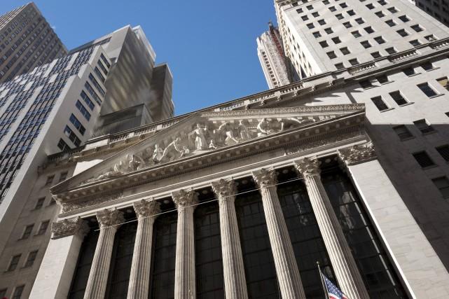À la bourse de New York, le Dow... (AP)