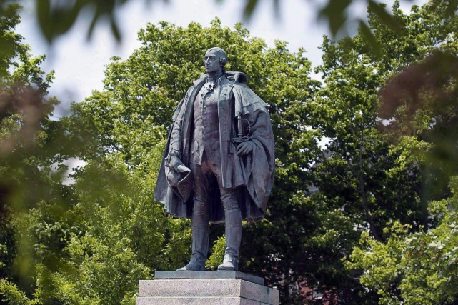 Edward Cornwallis avait fondé Halifax en 1749, en... (Photo La Presse canadienne)