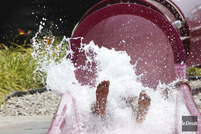 À l'heure actuelle, le parc aquatique Calypso n'a... (Simon Séguin-Bertrand, Archives Le Droit)