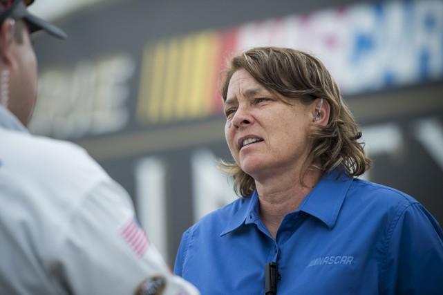 La directrice de la série canadienne de NASCAR,... (Matthew Manor, NASCAR)