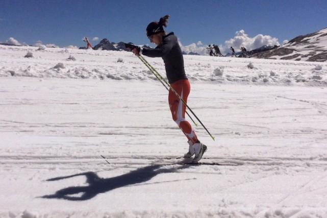 Un entraînement dans les Alpes françaises a permis... (Fournie par Frédérique Vézina)