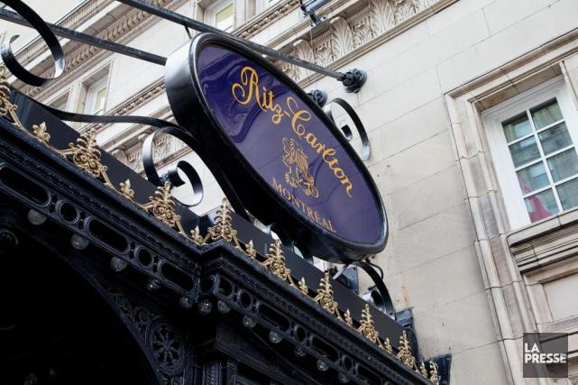 Le chic Ritz-Carlton a pignon sur la rue... (Photo Alain Roberge, Archives La Presse)