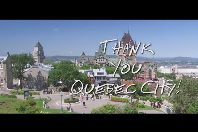 Metallica a offert un beau cadeau à son public de Québec au lendemain de son... (Photo capture d'écran Youtube)