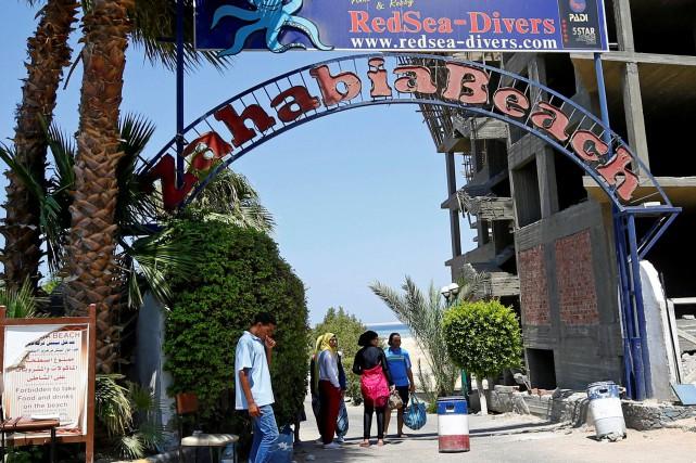 L'attaque de Hourghada, la première contre des touristes... (PHOTO Mohamed Abd El Ghany, REUTERS)