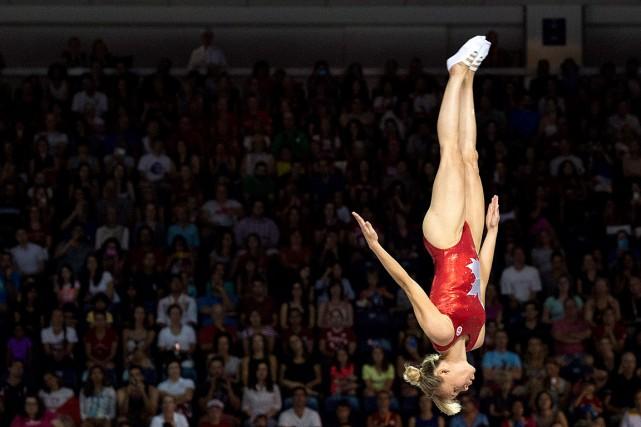 Pendant sa carrière olympique, Karen Cockburn remporté deux... (Archives La Presse canadienne, Darren Calabrese)